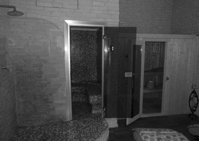 Sauna b&w